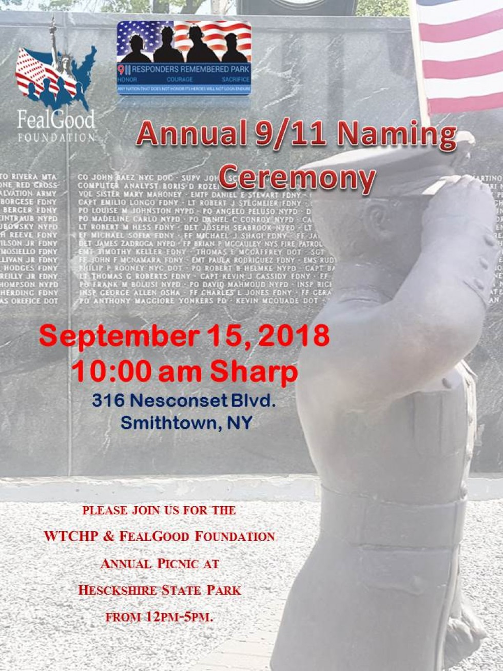 9/11 Naming Ceremony
