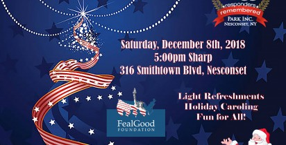 Annual Tree Lighting at 9/11 Park