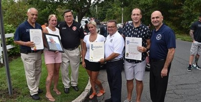 "Martha Avenue in East Patchogue, NY Named ""Mark W. Gajewski Way"""
