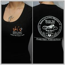 Clothing - Girl T-Shirt (memorial) (black)
