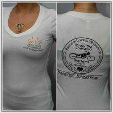 Clothing - Girl T-Shirt (memorial) (white)