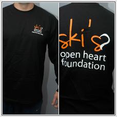 Clothing - Guy Long Sleeve (logo) (black)